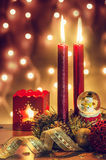 Kerstmissfeer Stock Foto