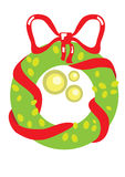 Kerstmisslinger van Nice stock illustratie