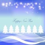 Kerstmissneeuw Stock Foto