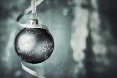 Kerstmissnuisterij in lichtblauwe kleuren Stock Foto