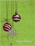 Kerstmissnuisterijen Stock Foto's