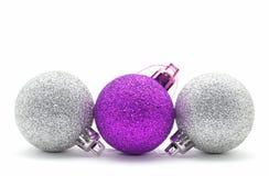 Kerstmissnuisterijen van de fonkeling Stock Afbeeldingen