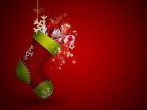 Kerstmissok royalty-vrije illustratie