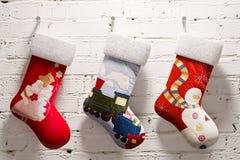 Kerstmissok Royalty-vrije Stock Fotografie