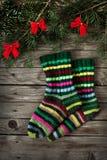 Kerstmissokken Stock Fotografie