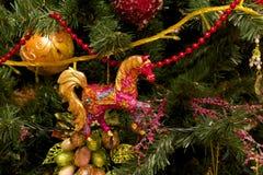Kerstmisspeelgoed stock foto