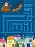 Kerstmisspel royalty-vrije illustratie