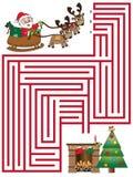 Kerstmisspel stock illustratie