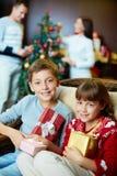 Kerstmisstemming Stock Fotografie