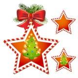 Kerstmisster Stock Afbeelding