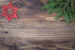 Kerstmisster royalty-vrije stock afbeeldingen