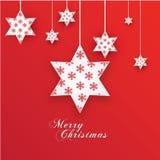 Kerstmissterren Royalty-vrije Stock Foto's