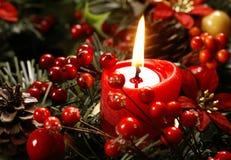 Kerstmisstilleven Stock Afbeeldingen