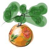 Kerstmisstuk speelgoed vector illustratie