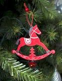 Kerstmisstuk speelgoed decoratie Stock Afbeeldingen