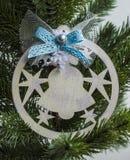 Kerstmisstuk speelgoed - klok Royalty-vrije Stock Afbeelding