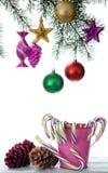 Kerstmissuikergoed Royalty-vrije Stock Afbeeldingen