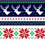 Kerstmissweater Royalty-vrije Stock Foto's