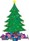 Kerstmistabletten Royalty-vrije Stock Foto's