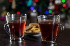 Kerstmisthee Stock Afbeeldingen