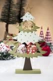 Kerstmisthema, lichte achtergrond Royalty-vrije Stock Fotografie