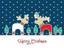Kerstmistijd 3 royalty-vrije illustratie