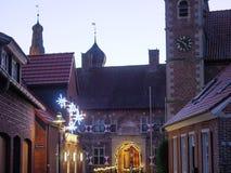Kerstmistijd in Duitsland royalty-vrije stock foto's