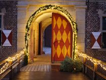 Kerstmistijd in Duitsland royalty-vrije stock afbeelding