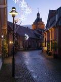 Kerstmistijd in Duitsland stock fotografie