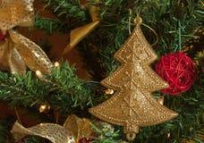 Kerstmistoebehoren royalty-vrije stock foto