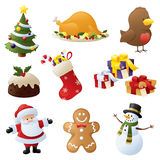 Kerstmistoejuiching Royalty-vrije Stock Afbeeldingen