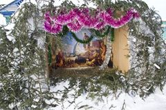 Kerstmistop stock afbeelding