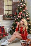 Kerstmisverhaal of droom in Kerstmis Royalty-vrije Stock Foto