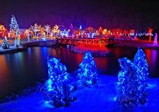 Kerstmisverhaal in Kroatië Stock Afbeelding