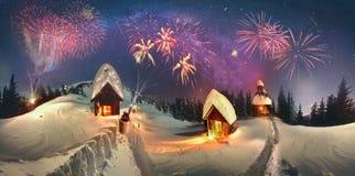 Kerstmisverhaal voor klimmers Royalty-vrije Stock Foto's