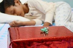 Kerstmisverrassing Royalty-vrije Stock Foto