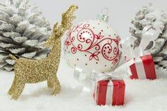 Kerstmisvooravond Stock Foto