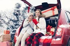 Kerstmisvoorbereidingen Stock Foto's