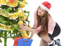 Kerstmiswens stock foto