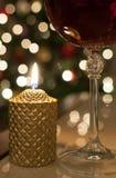 Kerstmiswijn Stock Afbeeldingen