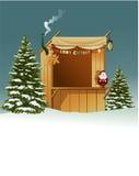 Kerstmiswinkel Royalty-vrije Stock Afbeelding