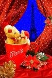 Kerstmiswittebroodsweken in Parijs Royalty-vrije Stock Fotografie