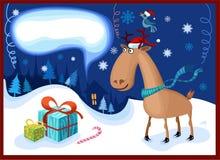 Kerstnacht Royalty-vrije Stock Foto's