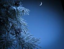 Kerstnacht Stock Foto's