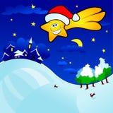 Kerstnacht Royalty-vrije Stock Afbeelding