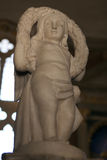 Kerub på den Malatesta templet av Rimini Royaltyfri Bild