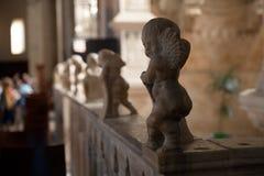 Kerub på domkyrkan av Rimini Arkivbild