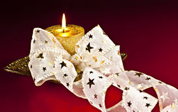 Kerze. Stockbild