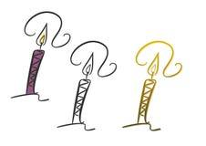 Kerze Lizenzfreies Stockbild
