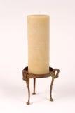 Kerze auf Kupfer Stand_8227-1S Stockfotografie